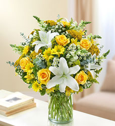 Ultimate Elegance Yellow Flower Power, Florist Davenport FL